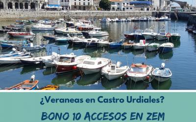 VERANO 2019 : Bono de 10 accesos al Centro Deportivo ZEM.