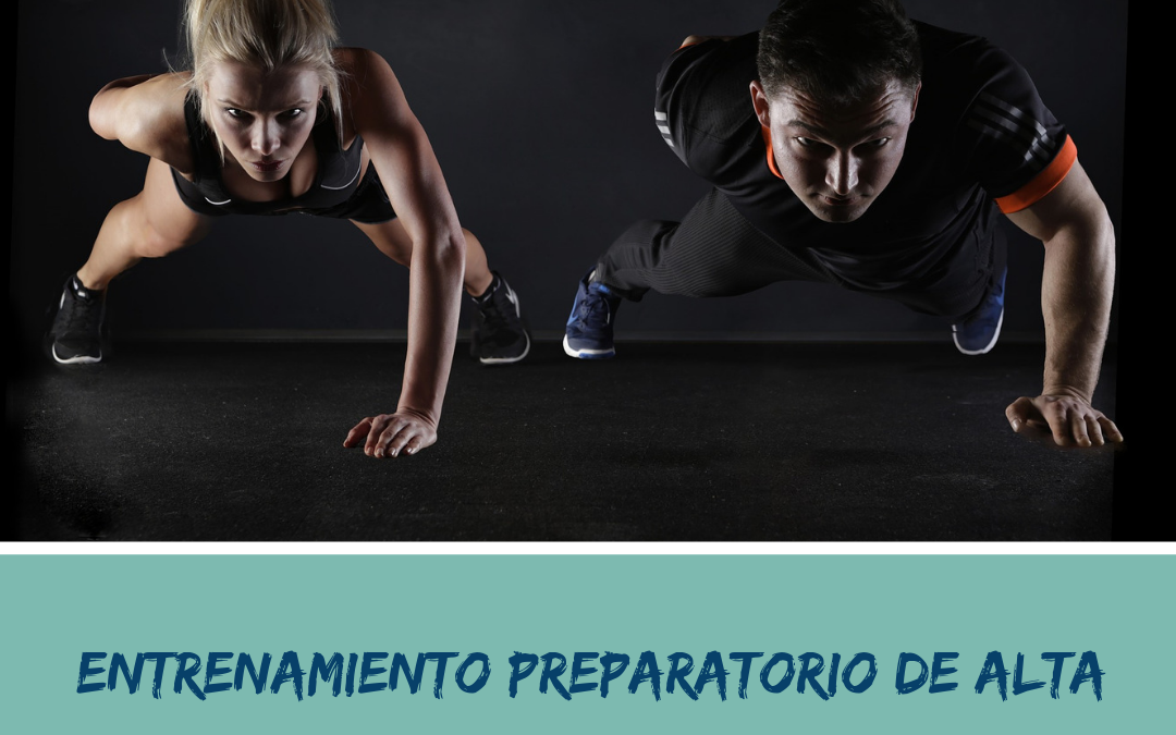 Entrenamiento Preparatorio de Alta Intensidad para PRETEMPORADA