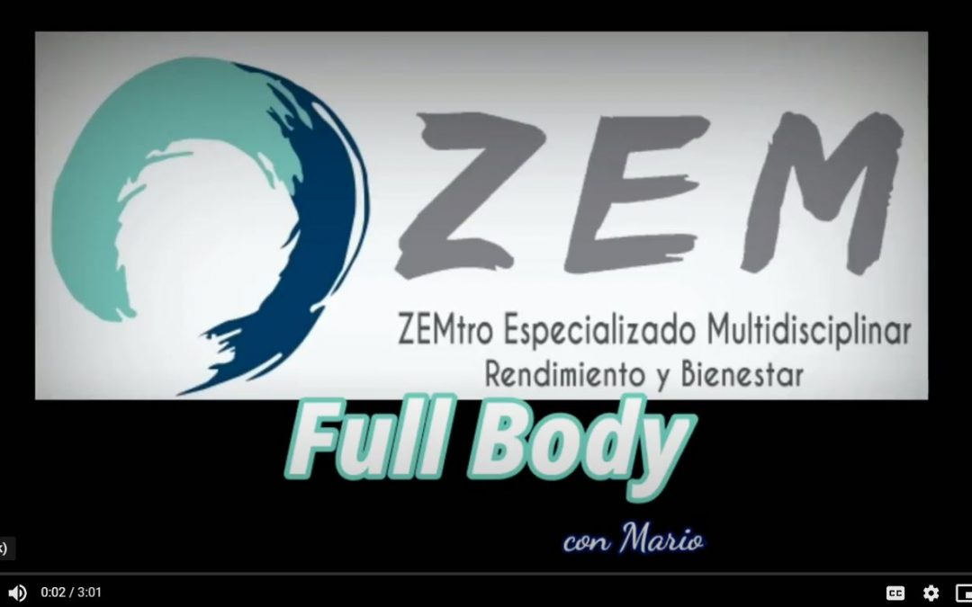 Confinamiento => Full Body 1