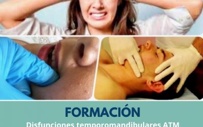 """Curso de """"Disfunciones temporomandibulares ATM, dolores de cabeza y ejercicio terapeutico"""""""